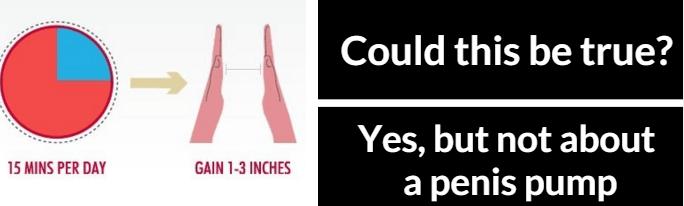 penis pump and penis enlargement
