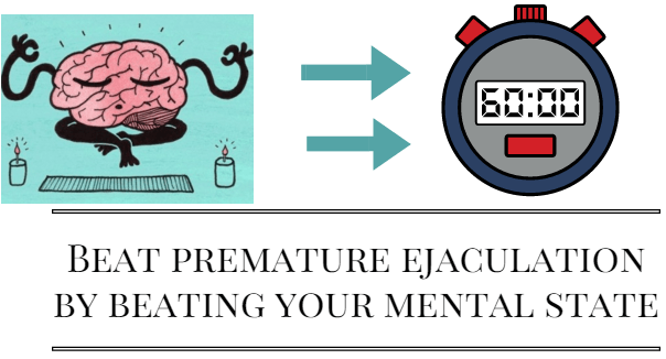 premature ejaculation and the mental state of mind