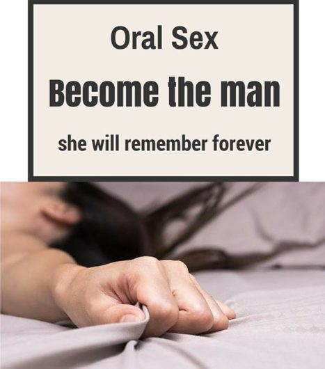 oral sex how to do it to a man