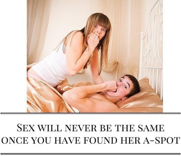 sex will never be the same once you found the a-spot